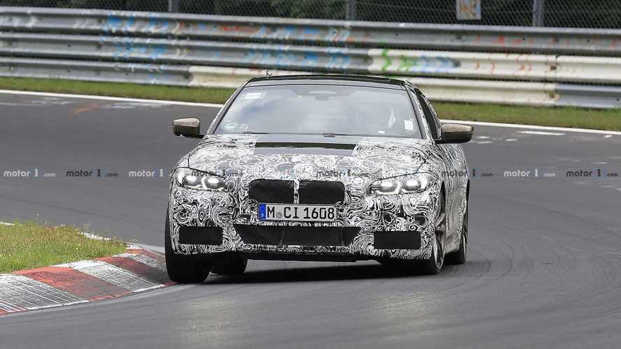 BMW Serie 4 Coupé, le foto spia al Nurburgring