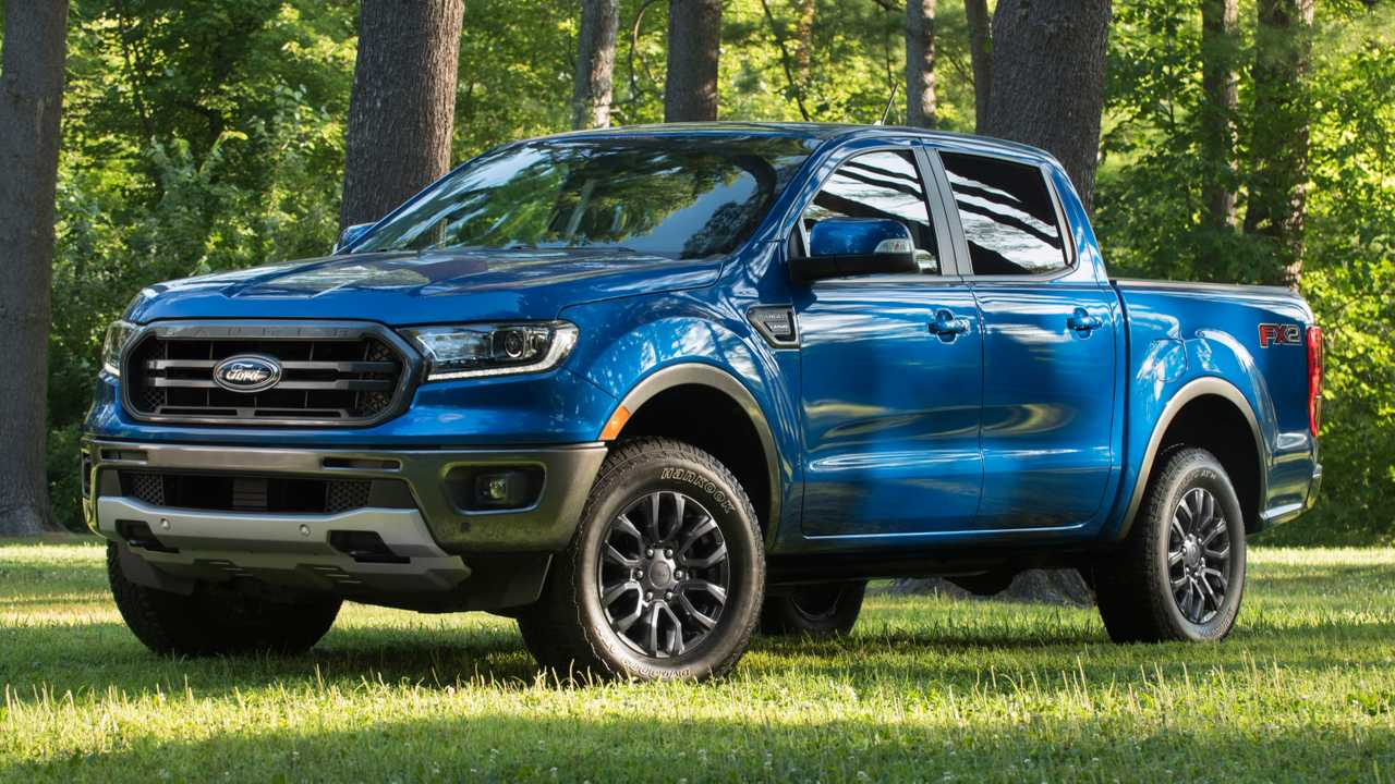 ford ranger fx package adds  road chops  wd models