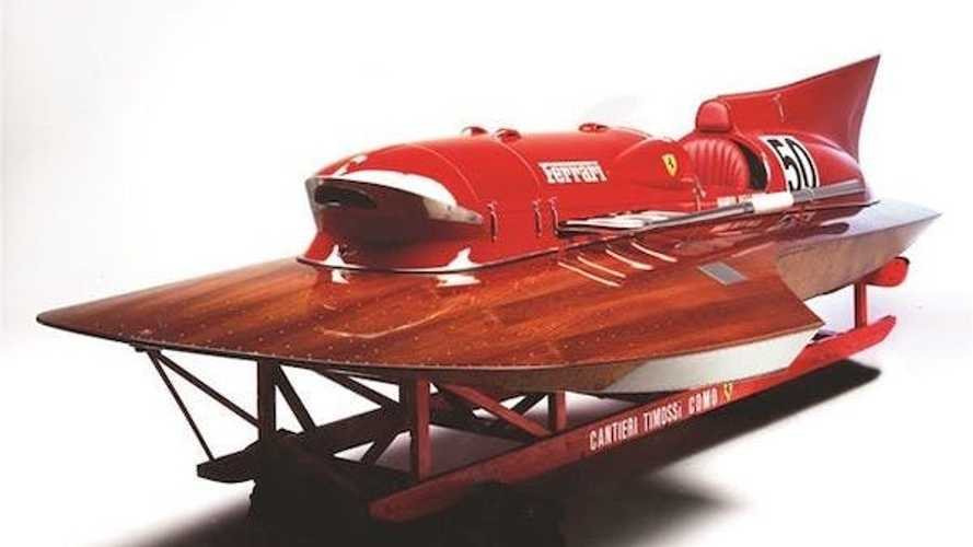 Historic Ferrari-Powered Racing Boat Is For Sale