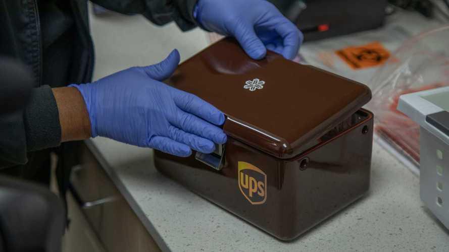 UPS consegna con i droni