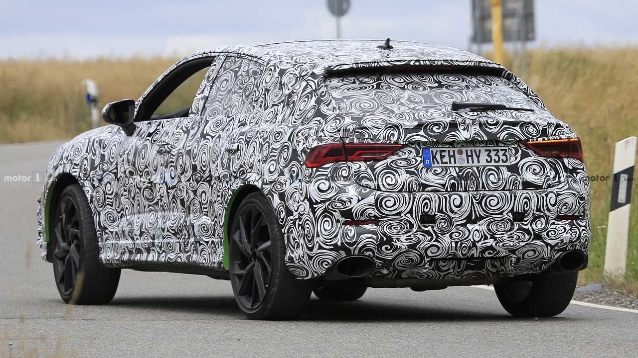 2020 Audi Q3: News, RS Q3, Specs, Release >> Audi Rs Q3 Sportback Caught As High Performance Swoopy Suv