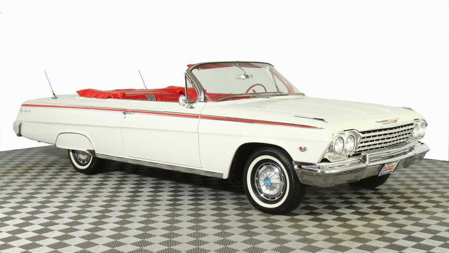 Ride Low And Slow In This 1962 Chevrolet Impala Convertible