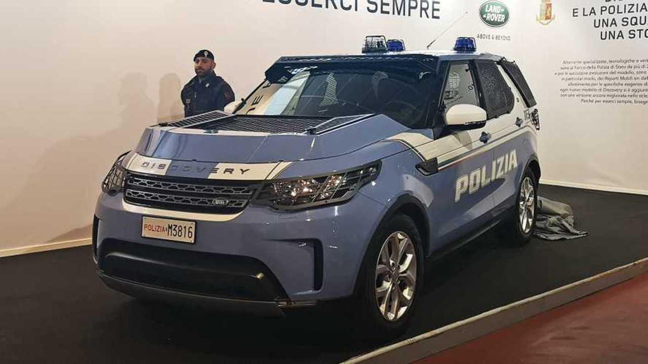 Land Rover Discovery de la policía italiana