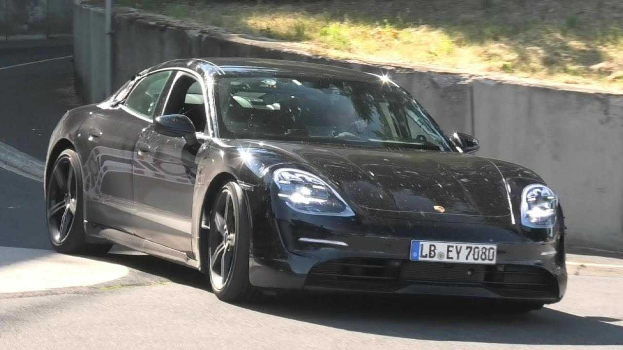 2020 Porsche Taycan Spied At The Nürburgring During Final Testing