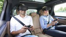 Porsche präsentiert Virtual-Reality-Unterhaltungssystem für den Fond