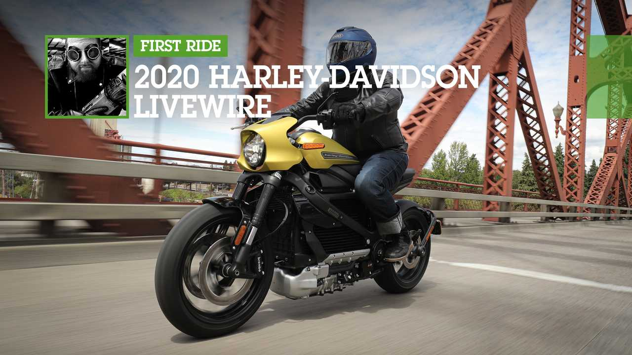 2020 Harley-Davidson LiveWire Feature
