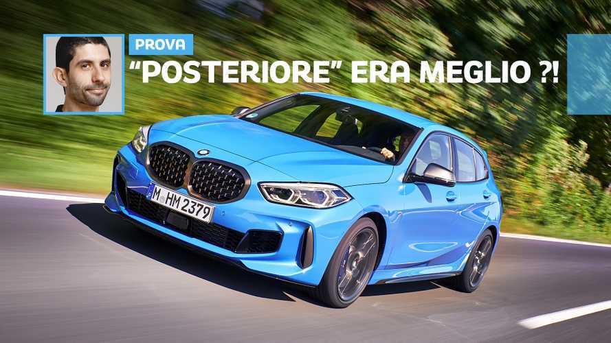 BMW Serie 1, la prova senza la trazione posteriore