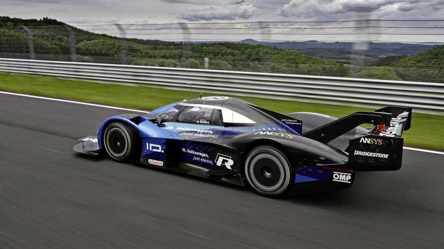 A Mercedes F1-es körrekordját célozza meg a Volkswagen ID R