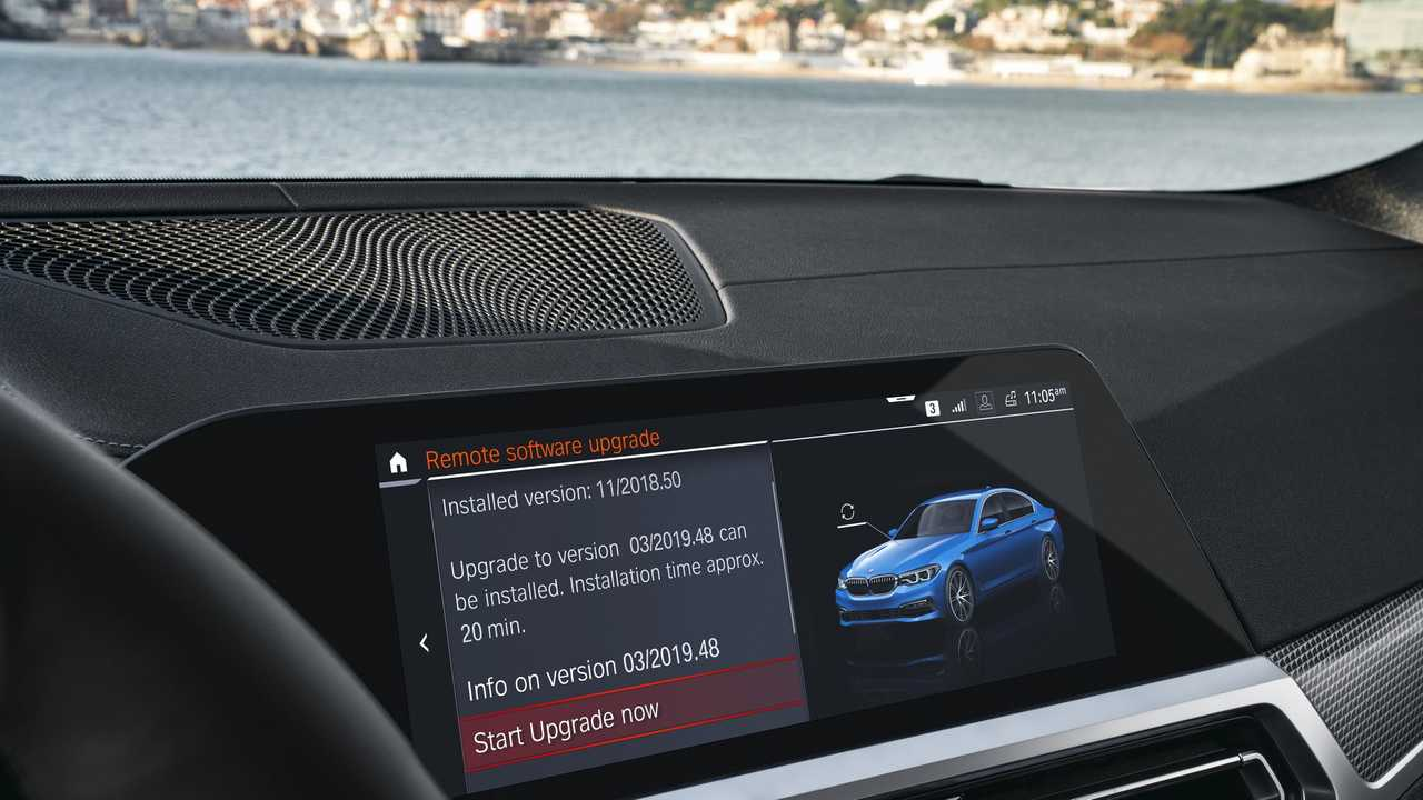 BMW Now Offering Over-The-Air Updates For Certain Models