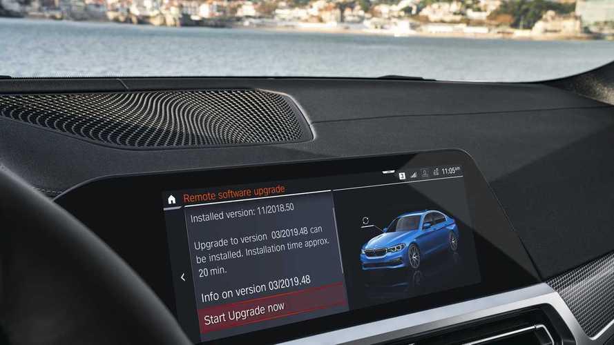 BMW bazı modellerine kablosuz güncelleme getirdi