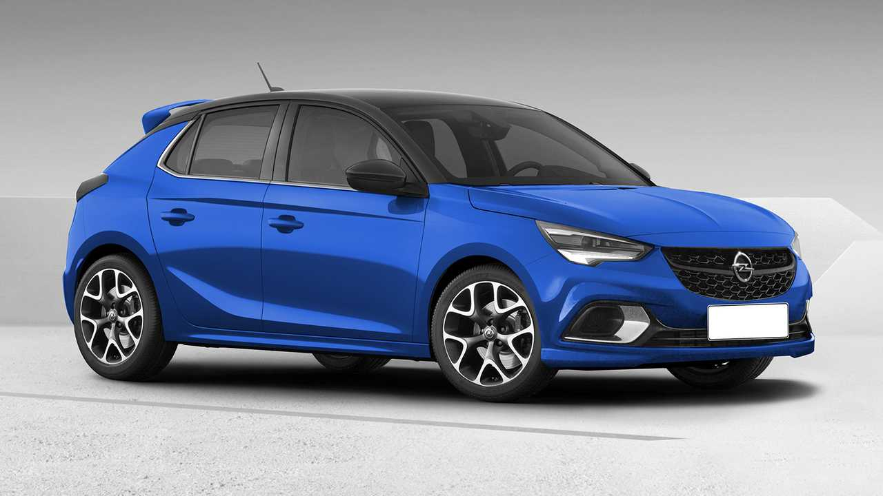 Opel Corsa OPC rendering