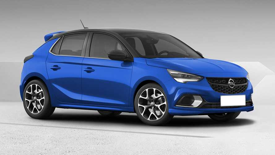 Vauxhall Corsa looks very promising in virtual VXR suit
