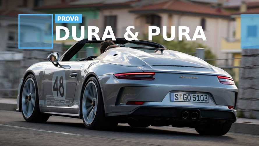 Porsche 911 Speedster, ecco come va la più estrema