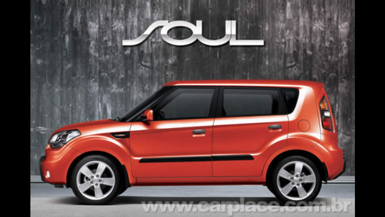 Kia revela a primeira imagem da versão de produção do SUV compacto