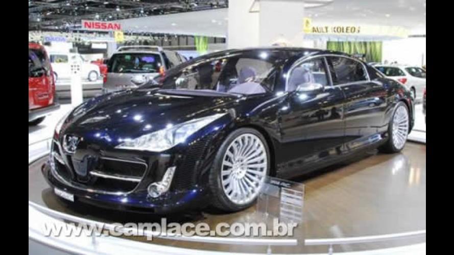 Salão de Madrid 2008 - Peugeot mostra o espetacular sedan de luxo 908 RC