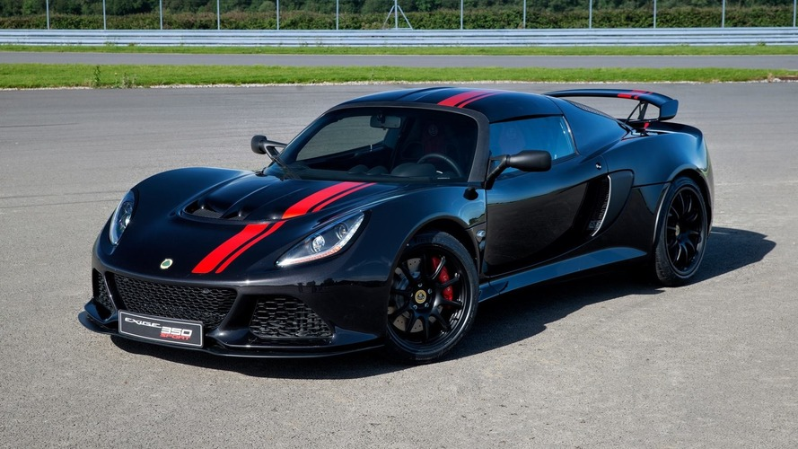 Lotus Exige 350 Special Edition shaves off 57 pounds of fat