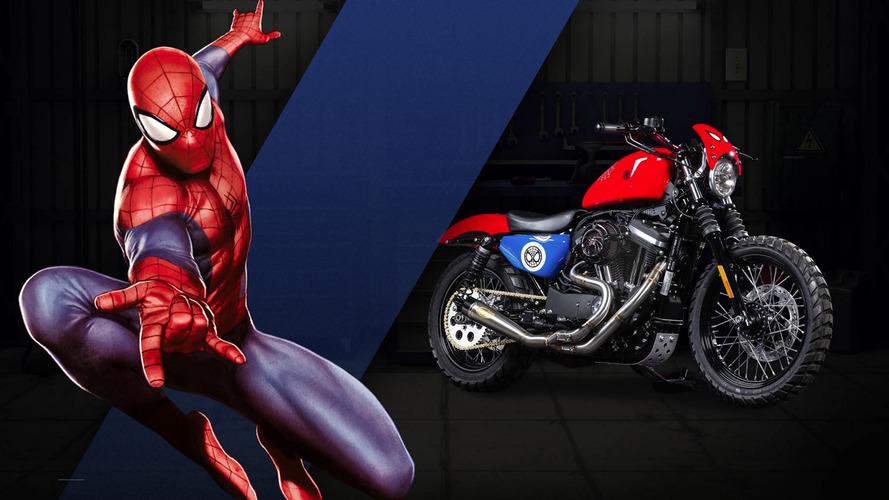 Harley-Davidson'un Marvel süper kahraman temalı 25 motosikletine göz atın