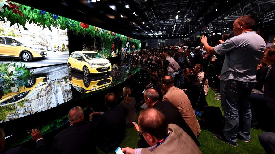 Opel и Vauxhall пропустят автосалон в Париже