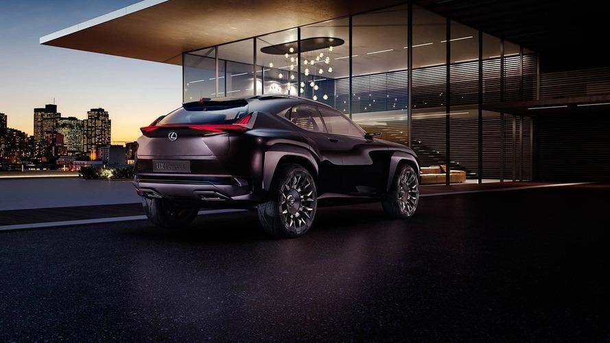 Lexus UX Concept - Première photo non officielle