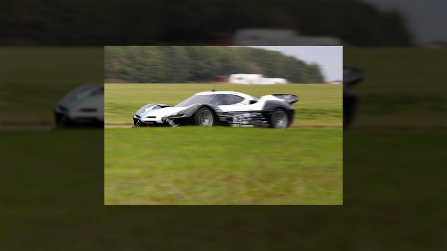 NextEV 1 MegaWatt supercar spied testing in UK