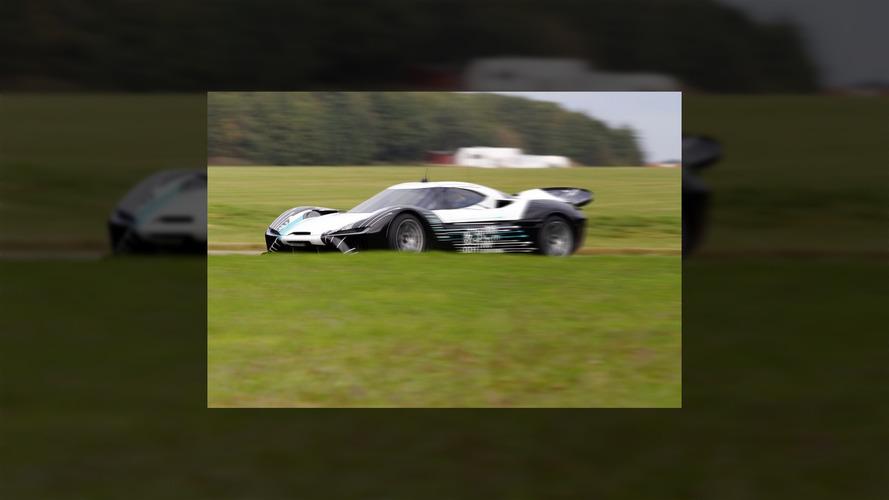 NextEV prototype spy photo