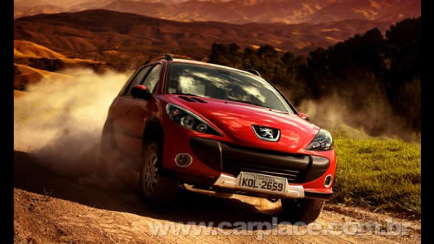 Peugeot começa a vender a nova 207 Escapade 2009 por R$ 46.100