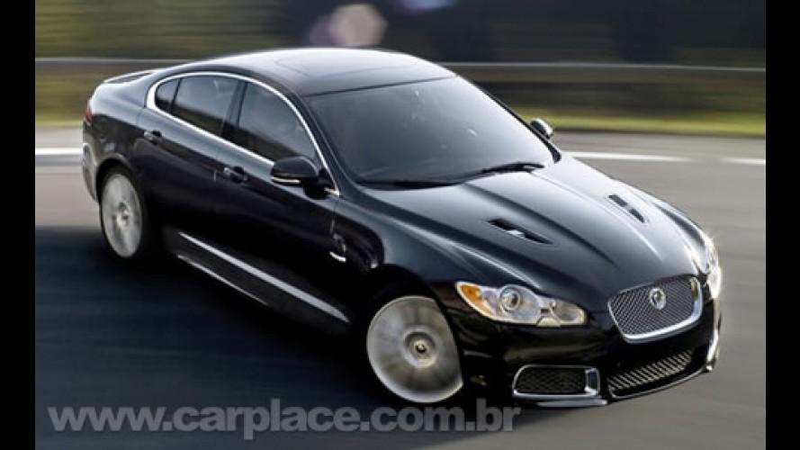 Salão de Detroit: Jaguar revela a linha Racing do XF e XK com motor de 510cv!