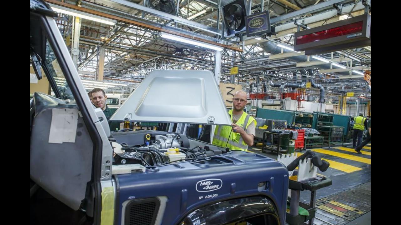 Jaguar - Land Rover Slovakya'da Fabrika Açıyor