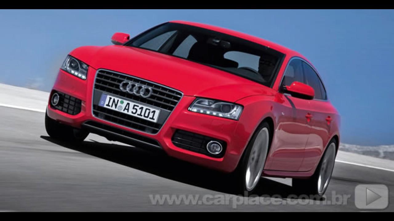 Vídeo oficial mostra a esportividade do Novo Audi A5 Sportback em movimento