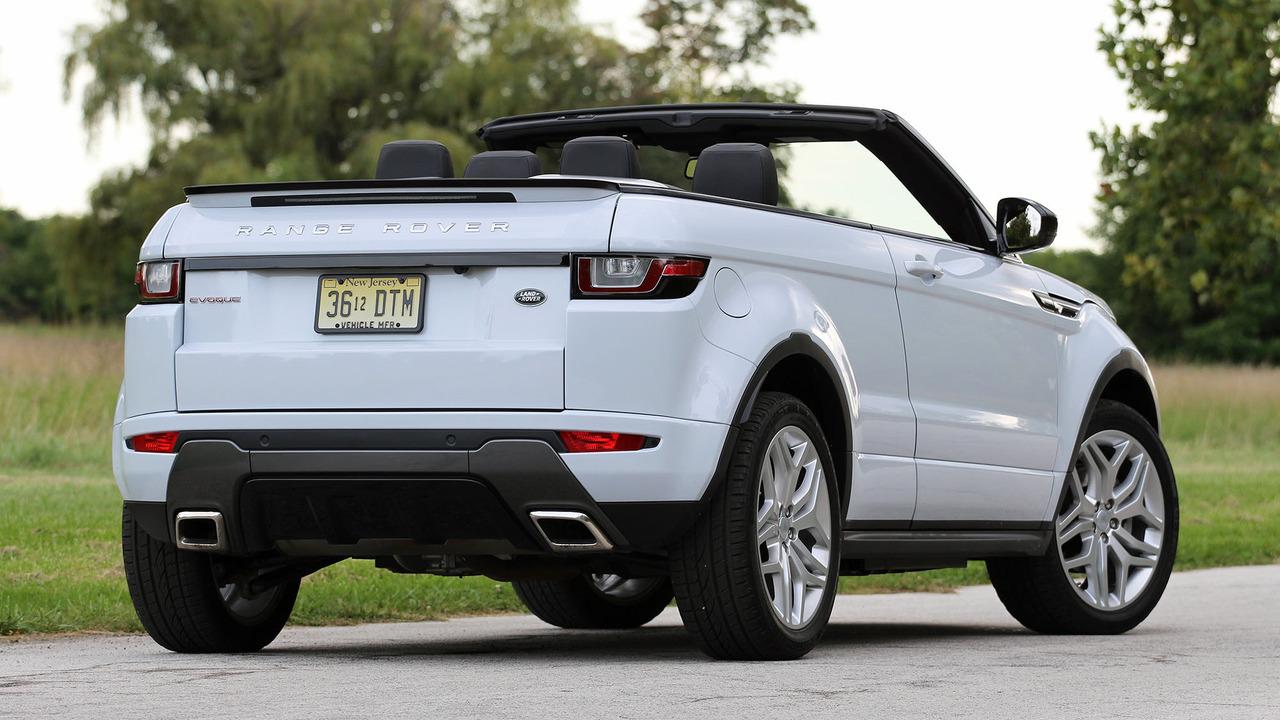 2017 Land Rover Range Evoque Convertible First Drive