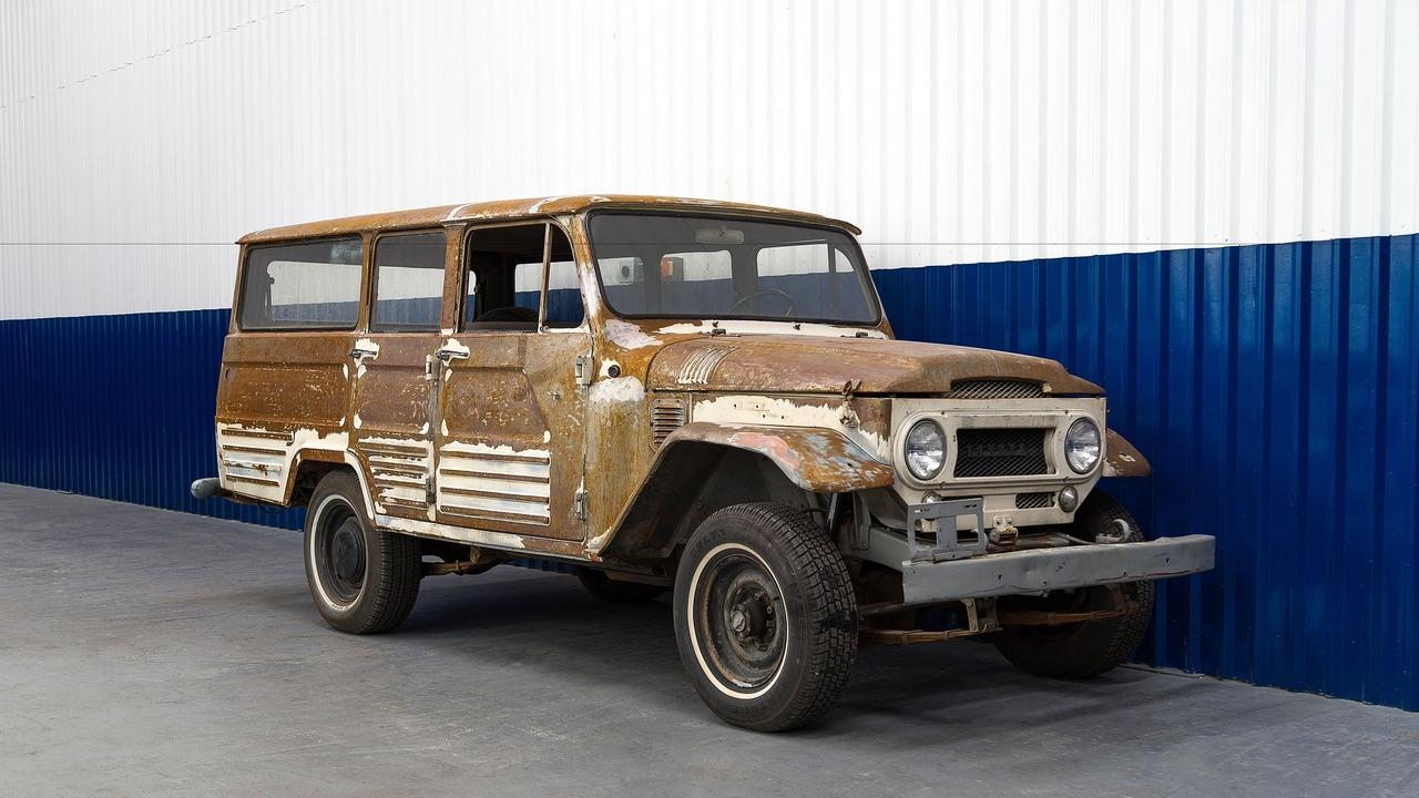 Ultra-rare 1967 Toyota Land Cruiser FJ45LV beautifully restored