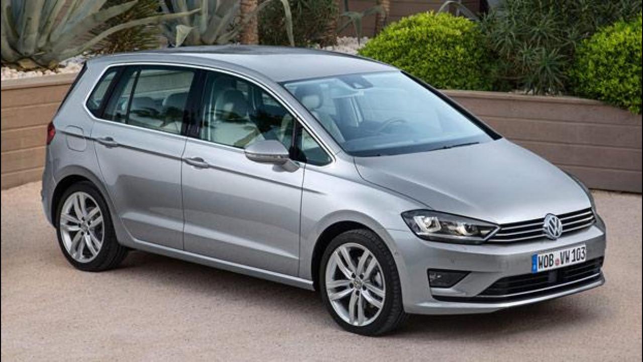 [Copertina] - Volkswagen Golf Sportsvan, quella rialzata