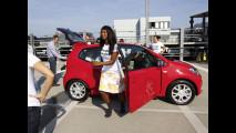 In 16 su una Volkswagen up!