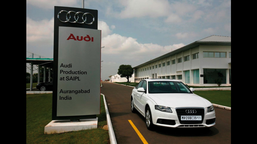Audi: avviata la produzione della A4 in India