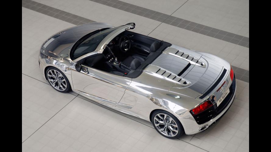 Ancora un'Audi per la beneficenza firmata Elton John