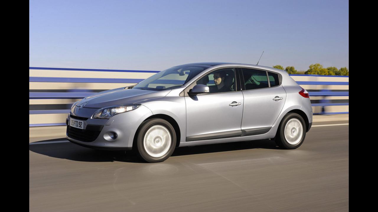 Nuova Renault Megane cinque porte