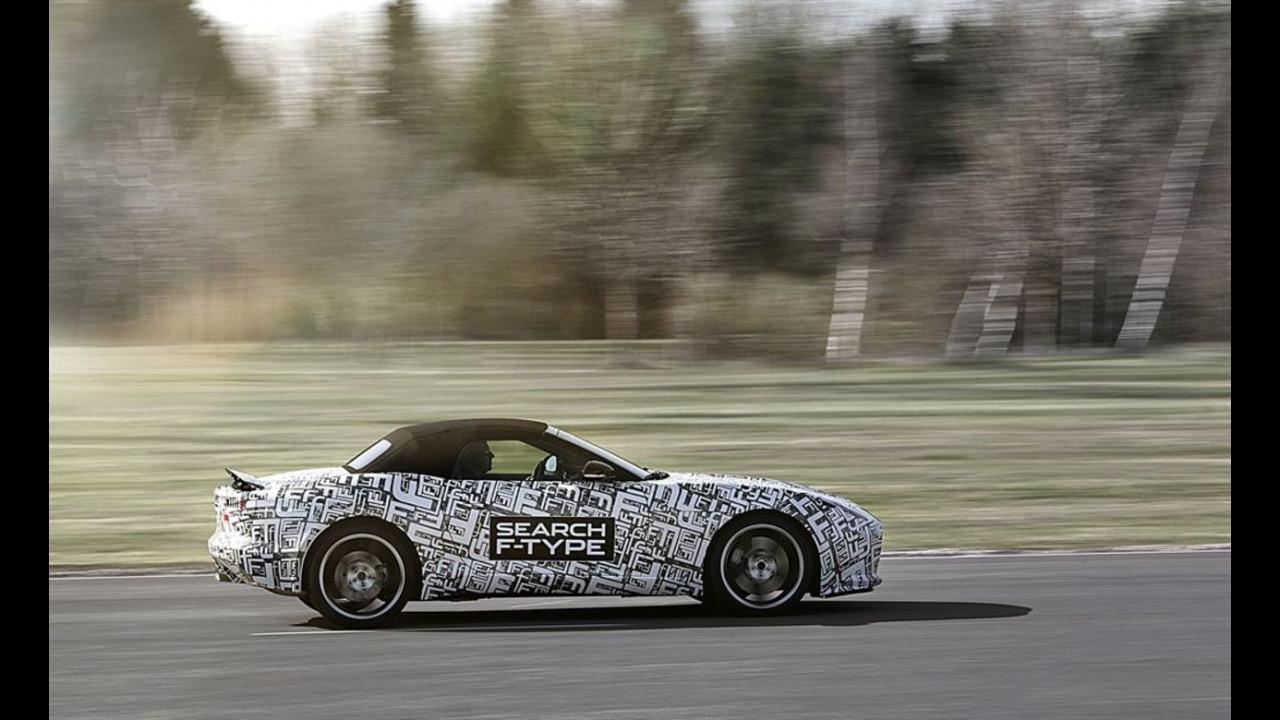 Jaguar F-Type, il prototipo