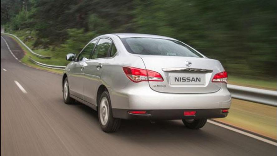 Nuova Nissan Almera al Salone di Mosca