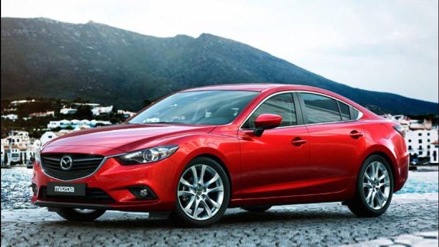 Nuova Mazda6 berlina