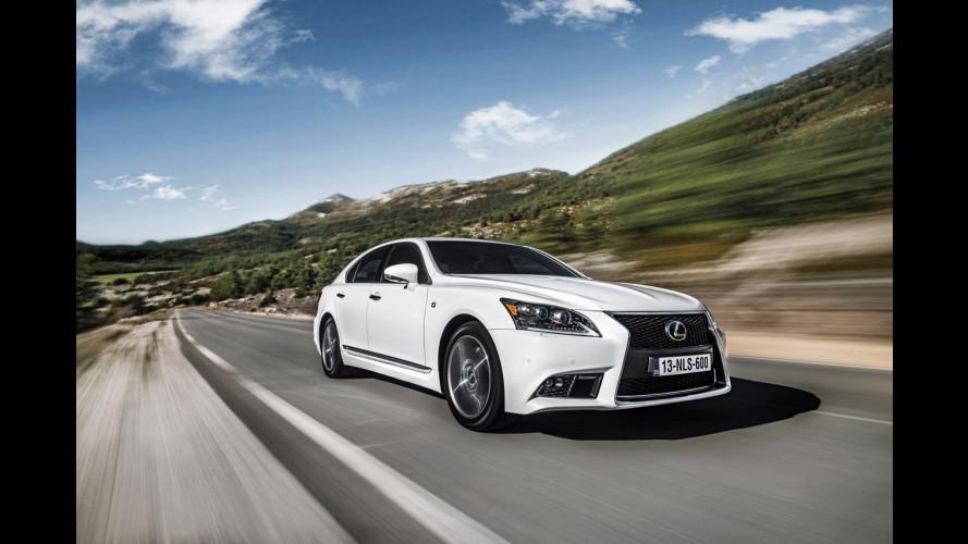 Lexus LS 600h Hybrid restyling
