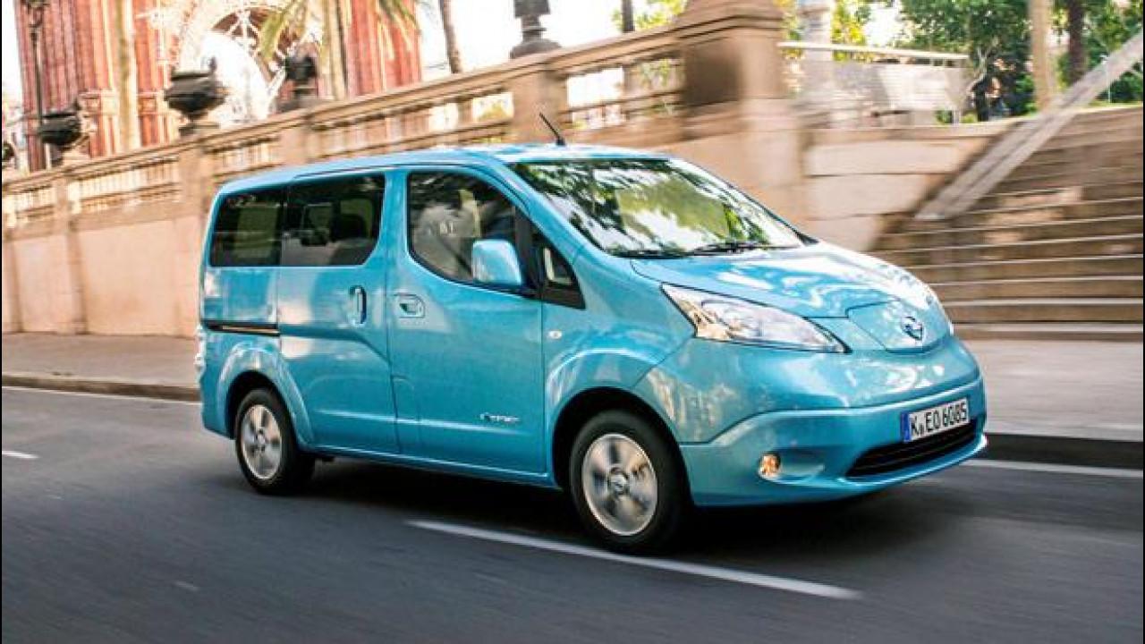 [Copertina] - Nissan e-NV200 Evalia, ecologia al cubo