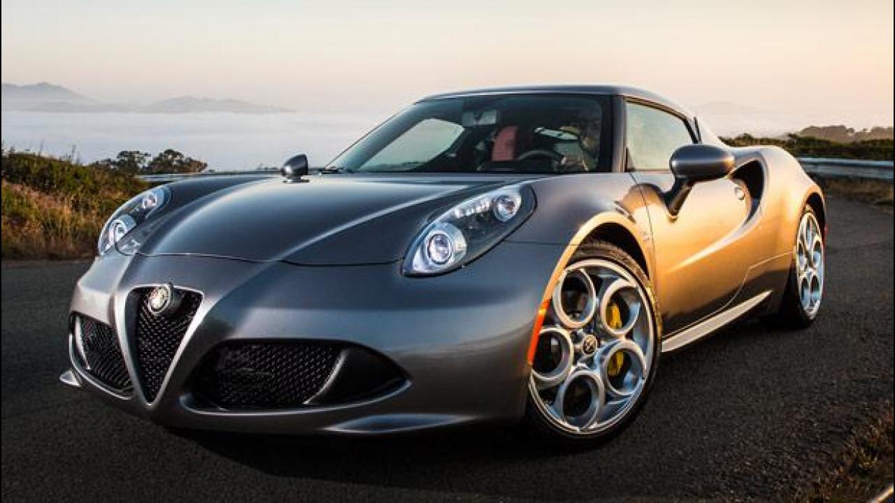 [Copertina] - Alfa Romeo 4C: quella per gli americani è più bella