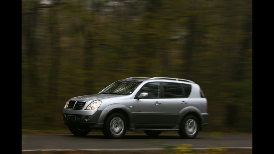 SsangYong Rexton usata: grande SUV piccolo prezzo