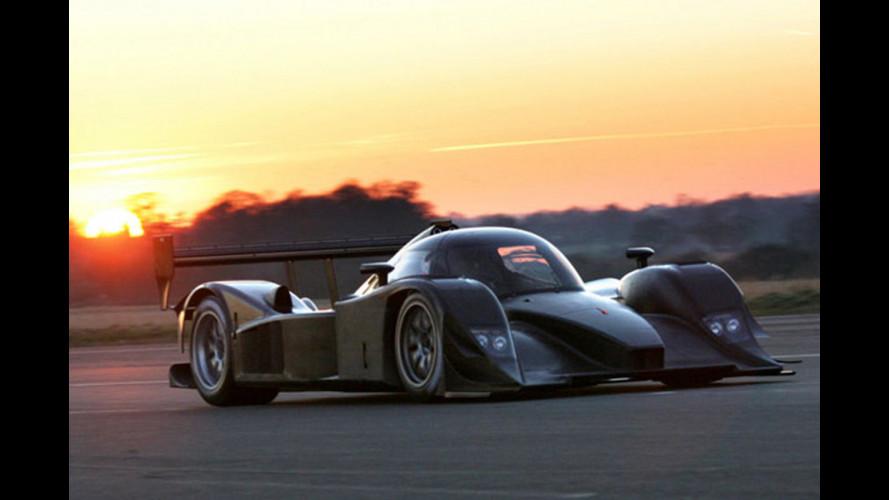 Lola-Aston Martin scalda i motori