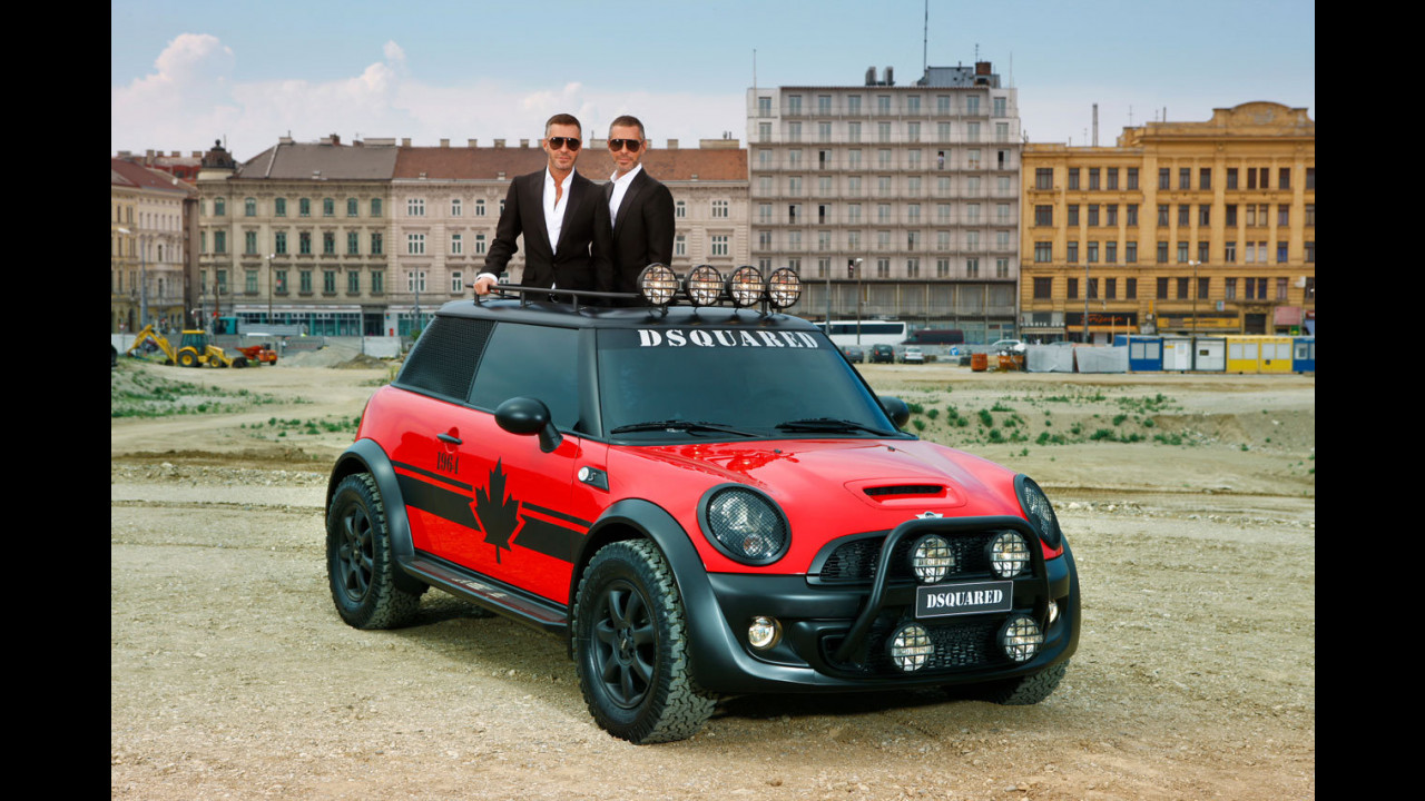 MINI Life Ball 2011 by DSQUARED2
