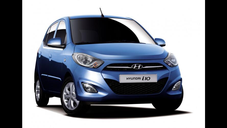 Hyundai i10 restyling