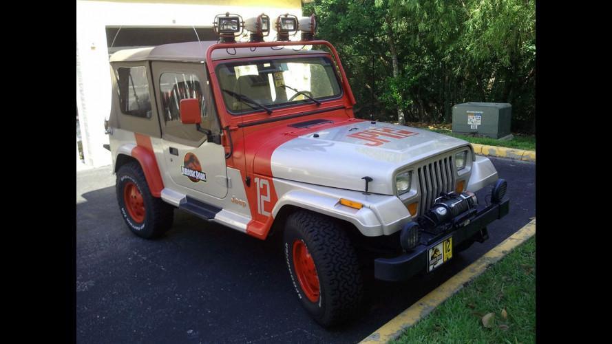 Venduta la Jeep di Jurassic Park