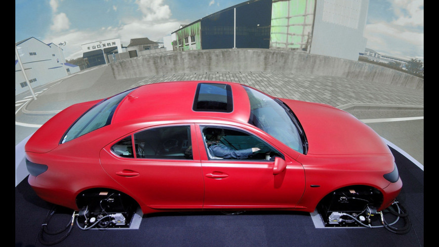 Ed ecco il simulatore di guida by Toyota