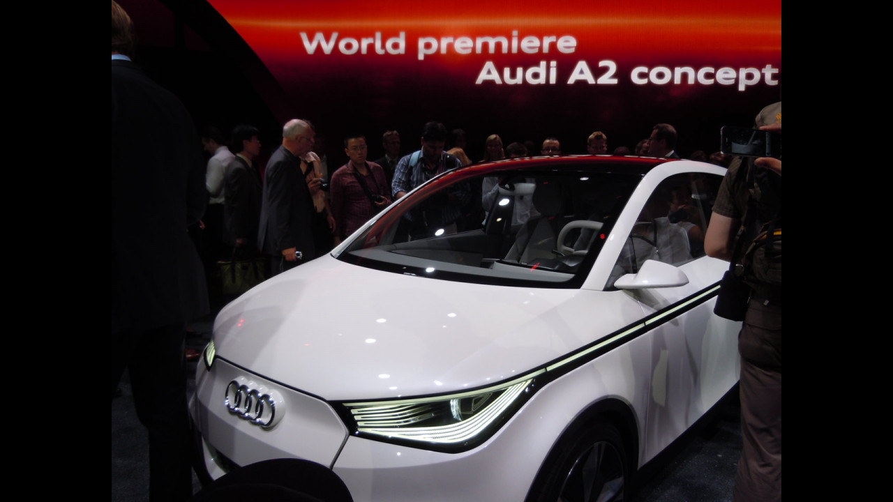 Il super LED dell'Audi A2 Concept