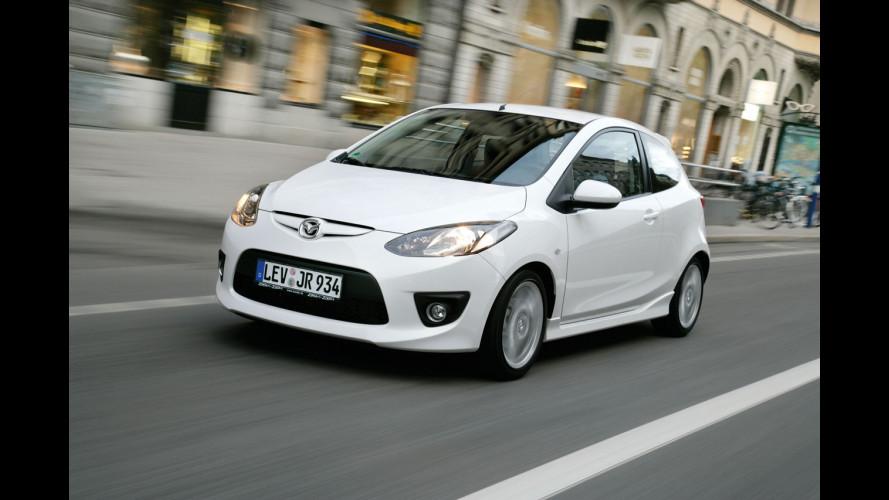 Mazda alla prova dell'elettrico